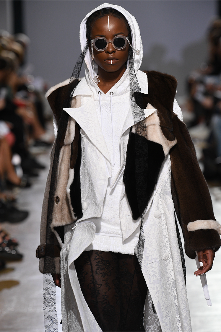 Eco-conscious London designer takes on fur